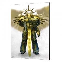 Cuadro madera Guilliman Ascend Warhammer 40000 - Imagen 1