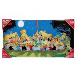 Poster cristal Asterix banquete - Imagen 1