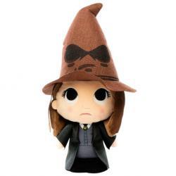 Peluche Harry Potter Hermione with sorting hat 15cm - Imagen 1