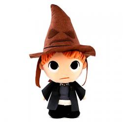 Peluche Harry Potter Ron with sorting hat 15cm - Imagen 1