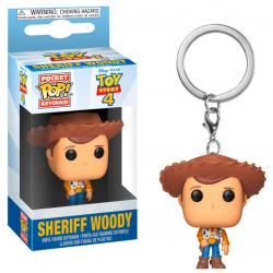 Llavero Pocket POP Disney Toy Story 4 Woody - Imagen 1