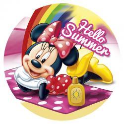 Toalla redonda Minnie Disney - Imagen 1