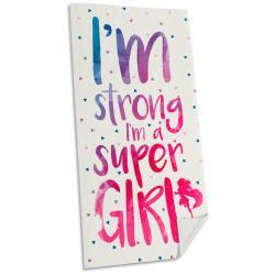 Toalla Im Super Girl - Imagen 1