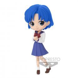 Figura Ami Mizuno Pretty Guardian Sailor Moon Eternal the Movie Q Posket 14cm - Imagen 1