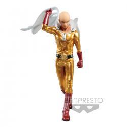 Figura Premium Saitama Metalic Color One Punch Man 20cm - Imagen 1