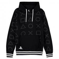 Sudadera capucha Black and White PlayStation - Imagen 1
