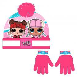Conjunto gorro guantes LOL Surprise - Imagen 1