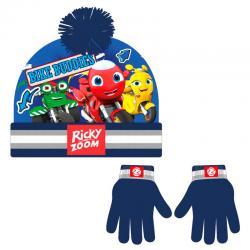 Conjunto gorro guantes Ricky Zoom - Imagen 1