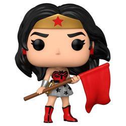 Figura POP DC Comics Wonder Woman 80th Wonder Woman Superman Red Son - Imagen 1