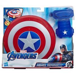Escudo y Guante Magneticos Capitan America Vengadores Avengers Marvel - Imagen 1
