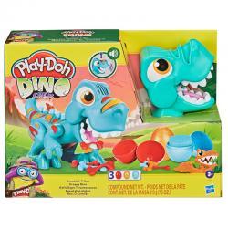 Rex El Dino Gloton Dino Crew Play-Doh - Imagen 1