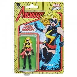 Figura Retro Carol Danvers Marvel 9,5cm - Imagen 1