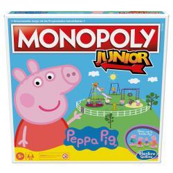 Juego Monopoly Junior Peppa Pig - Imagen 1