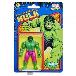 Figura Retro Hulk Marvel 9,5cm - Imagen 1