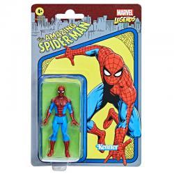 Figura Retro Spiderman The Amazing Spiderman Marvel 9,5cm - Imagen 1