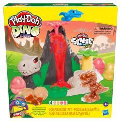 Dino Isla del Volcan Dino Crew Play-Doh - Imagen 1