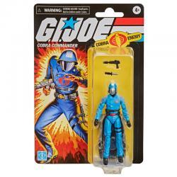 Figura Retro Cobra Commander G.I. Joe 9,5cm - Imagen 1