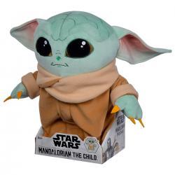 Peluche articulado The Child Baby Yoda The Mandalorian Star Wars 30cm - Imagen 1