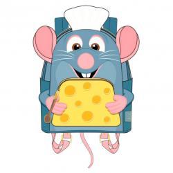 Mochila Remy Ratatouille Disney Pixar Loungefly 26cm - Imagen 1
