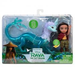 Muñecas Raya y Sisu Raya y el Ultimo Dragon Disney 15cm - Imagen 1