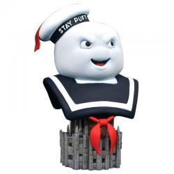 Busto Mr. Stay Puft Cazafantasmas Ghostbusters 25cm - Imagen 1