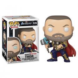 Figura POP Marvel Avengers Game Thor Stark Tech Suit - Imagen 1