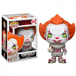 Figura POP IT 2017 Pennywise with boat - Imagen 1