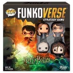Juego mesa POP Funkoverse Harry Potter 4fig Español - Imagen 1