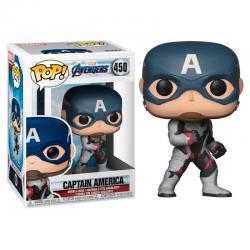 Figura POP Marvel Avengers Endgame Captain America - Imagen 1