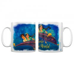Taza A Whole New World Aladdin Disney - Imagen 1