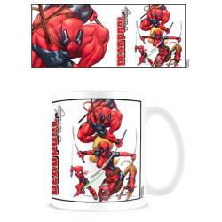 Taza Deadpool Marvel - Imagen 1