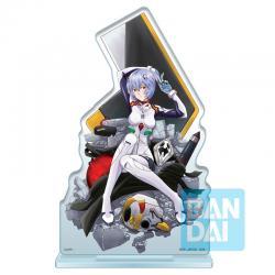 Figura Ichibansho Acrylic Stand Rei Ayanami Operation Started! Evangelion 20cm - Imagen 1
