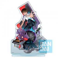 Figura Ichibansho Acrylic Stand Shinji Ikari Operation Started! Evangelion 20cm - Imagen 1