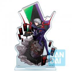 Figura Ichibansho Acrylic Stand Kaworu Nagisa Operation Started! Evangelion 20cm - Imagen 1