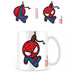 Taza Kawaii Spiderman Marvel - Imagen 1