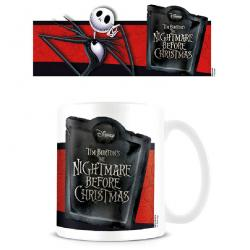 Taza Jack Banner Pesadilla Antes de Navidad Disney - Imagen 1