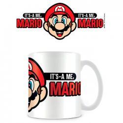 Taza Its A Me Mario Super Mario Nintendo - Imagen 1