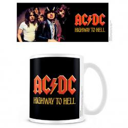 Taza Highway To Hell Coffee ACDC - Imagen 1