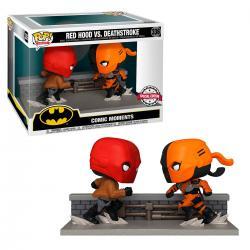 Figura POP DC Comics Red Hood vs Deathstroke Exclusive - Imagen 1