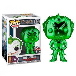 Figura POP DC Comics Batman The Joker Metallic Exclusive - Imagen 1
