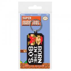 Llavero Born In The 80s Super Mario Bros Nintendo - Imagen 1