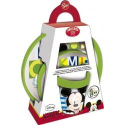Set Desayuno Premium 3 Piezas Microondas Mickey - Imagen 1