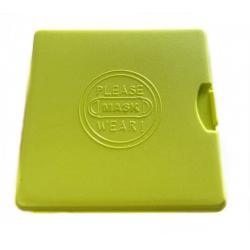 Porta Mascarillas 10x10x1.3cm. - Imagen 1