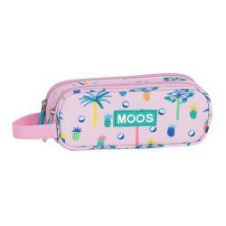 Portatodo Moos Paradise Pink Doble 21x8x6cm. - Imagen 1