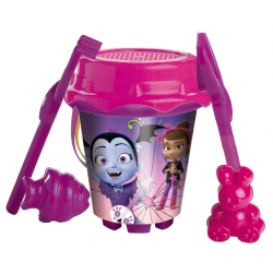 Cubo Vampirina Disney Con Castillo Y Moldes - Imagen 1