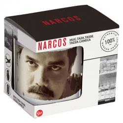 Taza Ceramica Narcos C/Regalo 325ml. - Imagen 1