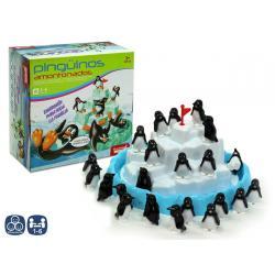 Juego De Mesa Pinguino Amontonado Caja - Imagen 1