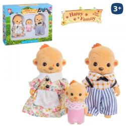 Mono Flocado Happy Family 3/Sut.8cm. - Imagen 1