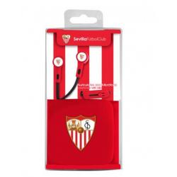 Auricular Boton Con Micro Del Sevilla FC - Imagen 1