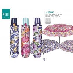 Paraguas Perletti Automatico Antiviento 54/8cm. - Imagen 1